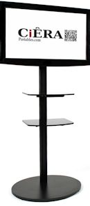 Fixed Base TV Stands - Single TV