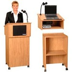 Modular Floor and Tabletop Lecterns