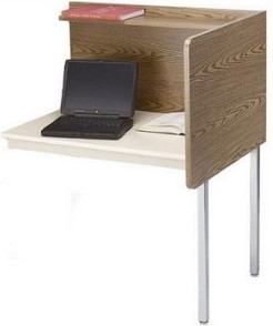 Smith Carrel 01117 Max Privacy Fixed Height Add-on Carrel (works with 01107)