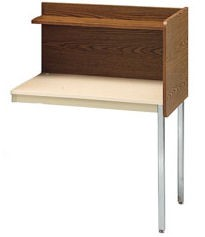 Smith Carrel 01295 Single-Sided Adjustable Height Add-on Carrel (works with 01285)