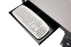 "Smith Carrel 01530 20""W Keyboard only Tray"