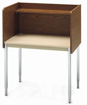 Smith Carrel 01607 Single-Sided Fixed Height Starter Carrel