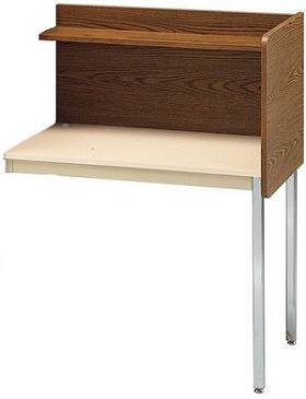 Smith Carrel 01617 Single-Sided Fixed Height Add-on Carrel (works with 01607)