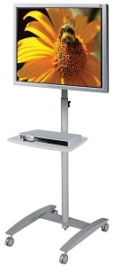 Balt 27561 Lumina Flat Panel Mobile Stand - Gray