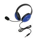 Califone 2800-BLT Listening First Stereo Headset w/to go 3.5mm plug - Blue