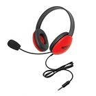 Califone 2800-RDT Stereo Headset with To Go Plug 12 Pack