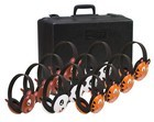 Califone 2810-12 Listening First Four Bear, Four Panda, Four Tiger, Four with Storage Case