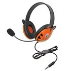 Califone 2810-TTI Listening First Stereo Headsets Tiger with 3.5mm plus