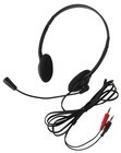 Califone 3065AV Lightweight Personal Multimedia Stereo Headset with dual 3.5mm plugs