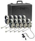 Califone 3066USB-10 Deluxe Multimedia Stereo Headsets with mic 10 pack with case and USB plug