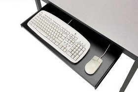 "Smith Carrel 01527 25 1/2""W Keyboard/Mouse Tray"