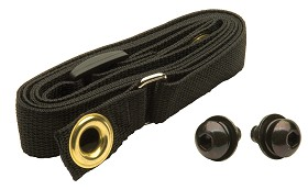 Peerless ACC111 Jumbo Black Belt - Black