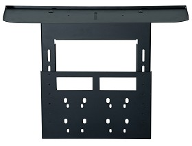 Peerless ACC319 Video Conferencing Shelf for SmartMount Carts and Stands - black