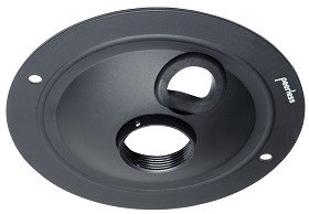 Peerless ACC570 Round Structural-Finished Ceiling Plate for LCD Projectors - Black