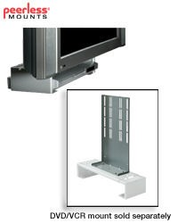 Peerless ACC932 Interface Bracket for DVD Mount to Flat Panel Mounts with PLP Adapter Plate - Black