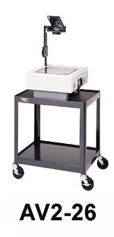 Dalite AV2-26 PixMobile fully Arc-Welded Cart 18x24 Shelf