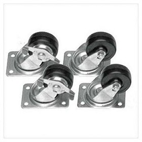 Raxxess CASTER/CMLCK Locking Commercial Caster Set Of 4