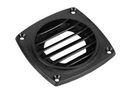 Raxxess CLS-P Passive Louvered Vent 3.5 Inch -Black