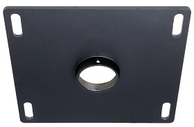 Peerless CMJ310 Peerless 8 in.x8 in. Unistrut and Structural Ceiling Plate - Black Peerless 8 in.x8 in. Unistrut and Structural Ceiling Plate - Black