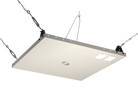 Peerless CMJ450 Suspended Ceiling Plate for Jumbo 2000 Mounts - White