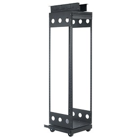 Raxxess CPROTR-CL 42U rack height without cabinet