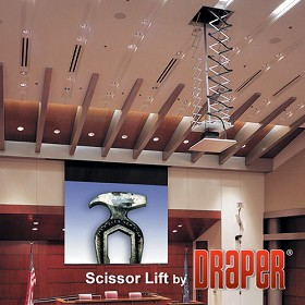 Draper 300278 Scissor Lift SL12 - Up to 12' Travel