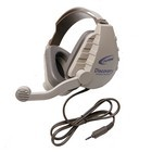 Califone DS-8VT Discovery Headset Discovery Headset 3.5mm To Go plug for tablets & smartphones, 3' cord, electret mic