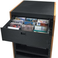 Raxxess DVDP Dvd Drawer Partition (Q.D.E.)