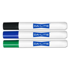 DaLite 43220 Markers-set of 1 ea. of 3 colors Presentation Accessories