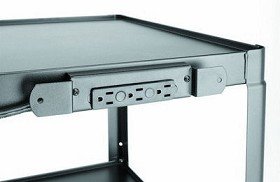 Dalite E3(+) Three outlet Electrical Assembly