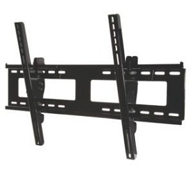 "Peerless EPT650-S Universal Outdoor Tilt Wall Mount for 32"" - 55"" Flat Panel Displays Weighing up to 175lb - Silver"
