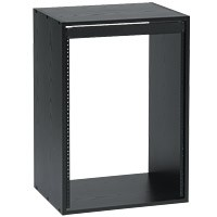 Raxxess ER-6 Economy Rack 6 Space 16 Inch Deep Black