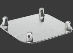 Global F34 BASE 12 inches X 12 inches aluminum base plate for square  lengths