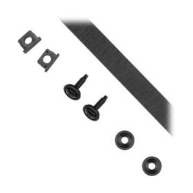 Raxxess FSK-B Finishing Kit-Blk Anodized-Single Strip-
