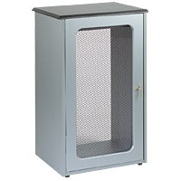 Raxxess GRFD-20PLX Graphite Door 20U Plexi Glass Door