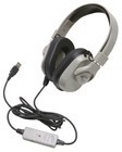 Califone HPK-1000 Titanium Series Headphone Washable  without Guaranteed for Life cord