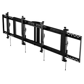 Peerless DS-MBZ947L-2X1 SmartMount Digital Menu Board 2x1 Ceiling Mount with 8pt Adjustment for 46-48 Inch TV's - Landscape