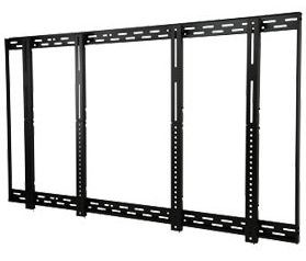 Peerless DS-VW646-2x2 Universal 2x2 Video TV Wall Mount kit for 40 - 46 Inch TV's - Black