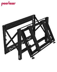 "Peerless DS-VW760 Full-Service Video Wall Mount for 40"" to 65"" displays"