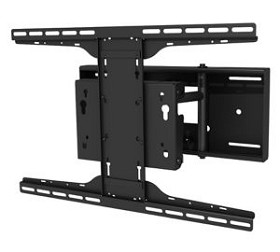 Peerless SP850-UNL SmartMount Universal Pull-Out Swivel Mount for 32 -80 Inch TV's with Security Fasteners - Black