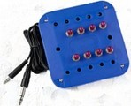 Hamilton Electronics Kids-JBP8SV BlueJackbox, Kids Blue, 8 Postion, Stereo, Individual Volume Controls