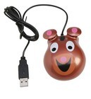 Califone KM-BE Animal-themed Computer Mice - Bear