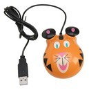 Califone KM-TI Animal-themed Computer Mice - Tiger