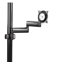 Chief KPD110B Flat Panel Dual Arm Pole Mount - Black