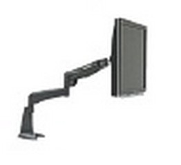 Peerless LCT-101 LCD Single Desktop Mount - Black