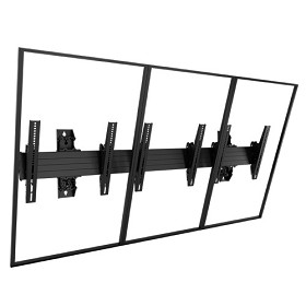 Chief LWM3X1UP Fusion Large Wall 3X1 Menu Board Mount - Portrait