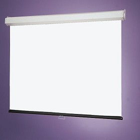 Draper 206008 Luma 2 Manual, 9 Foot x 9 Foot AV Format Matt White XT1000E Surface