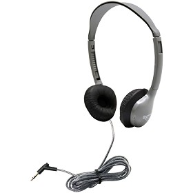 Hamilton Electronics MS2L SchoolMate Personal Mono/Stereo Headphone with Leatherette
