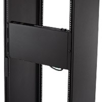 Raxxess NAXS20VM Vertical Mount, 9 Outlet, 20 A, W/ Rmote