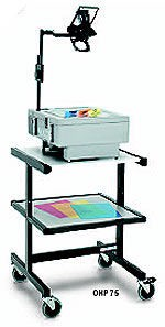 "OHP 75 - Overhead Projector Cart 30"" H"